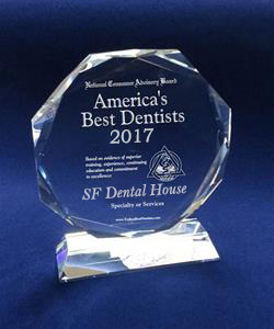 SF Dental House's Best Dentist Award